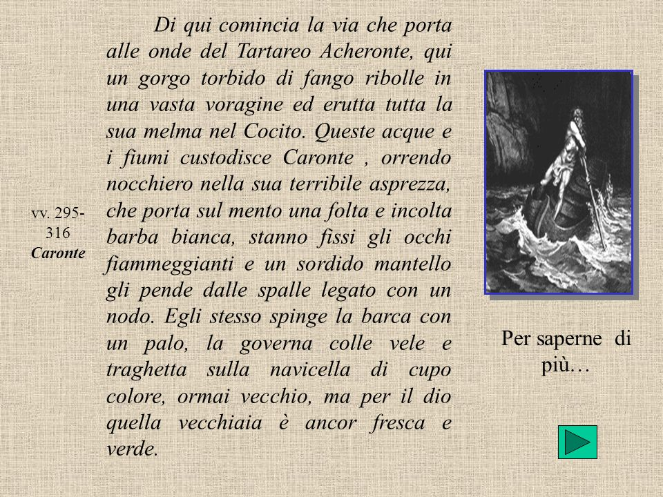 vv. 295-316 Caronte.