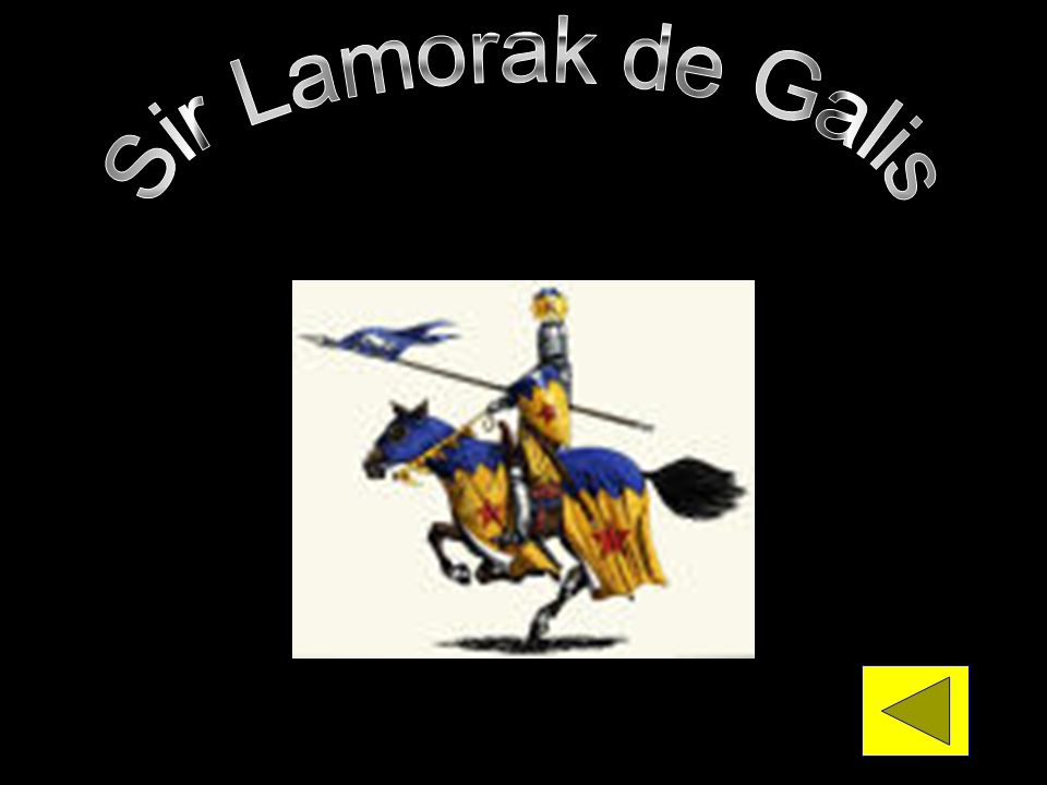 Sir Lamorak de Galis