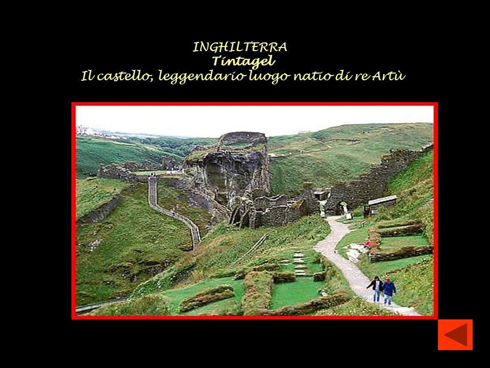Il castello, leggendario luogo natio di re Artù