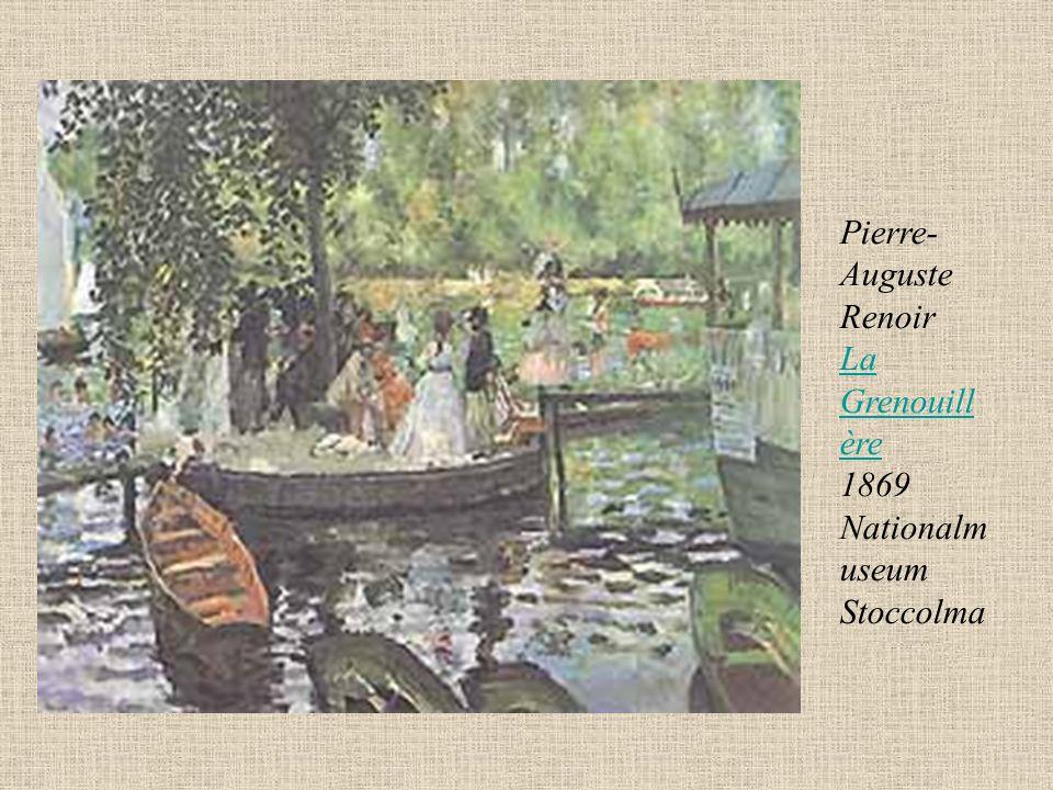 Pierre-Auguste Renoir La Grenouillère 1869 Nationalmuseum Stoccolma