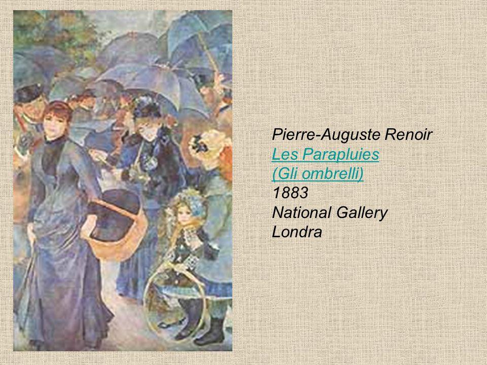Pierre-Auguste Renoir Les Parapluies (Gli ombrelli) 1883 National Gallery Londra