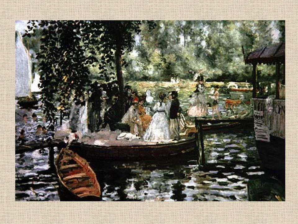 La Grenouillère INDIETRO. indice. Impressionismo. Renoir.