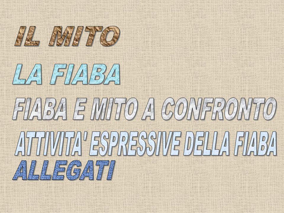 FIABA E MITO A CONFRONTO