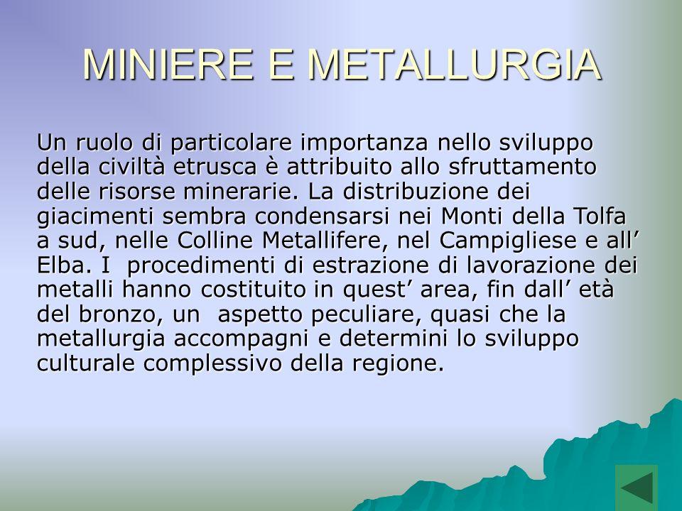 MINIERE E METALLURGIA