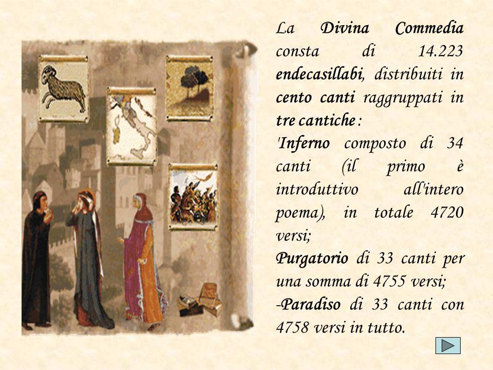 La Divina Commedia consta di 14