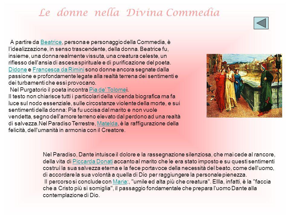 Le donne nella Divina Commedia