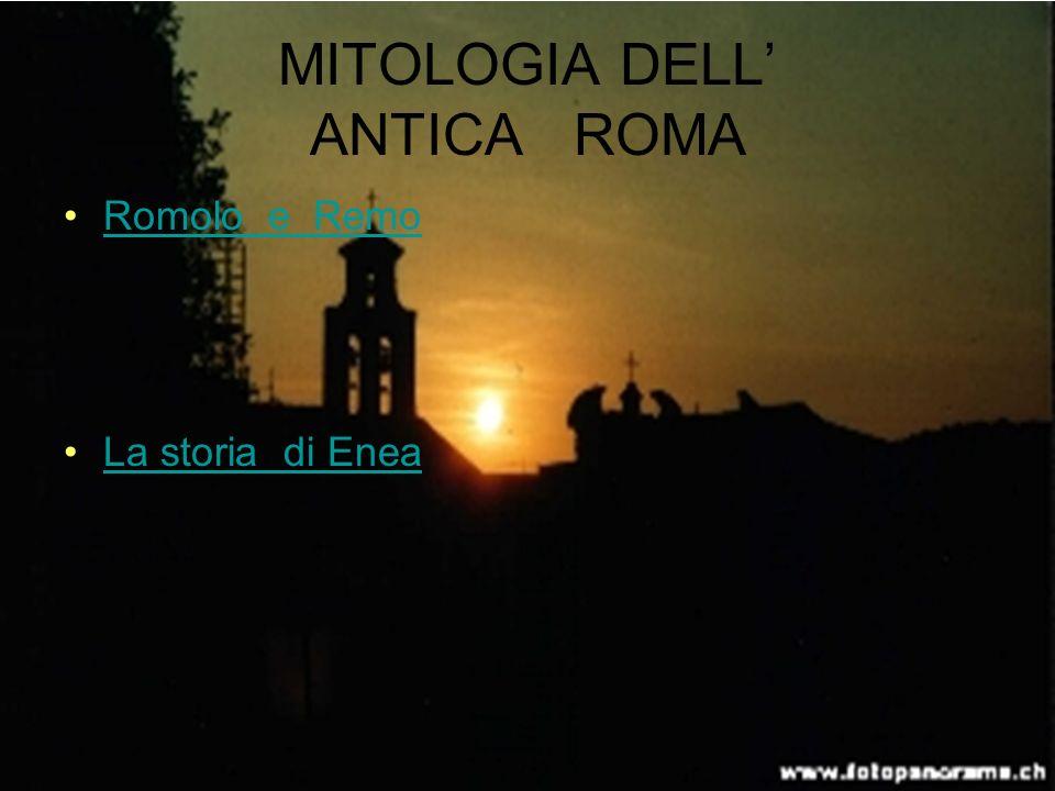 MITOLOGIA DELL' ANTICA ROMA