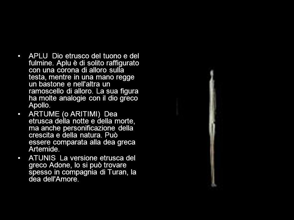 APLU Dio etrusco del tuono e del fulmine