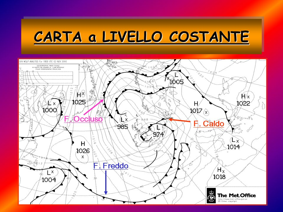 CARTA a LIVELLO COSTANTE