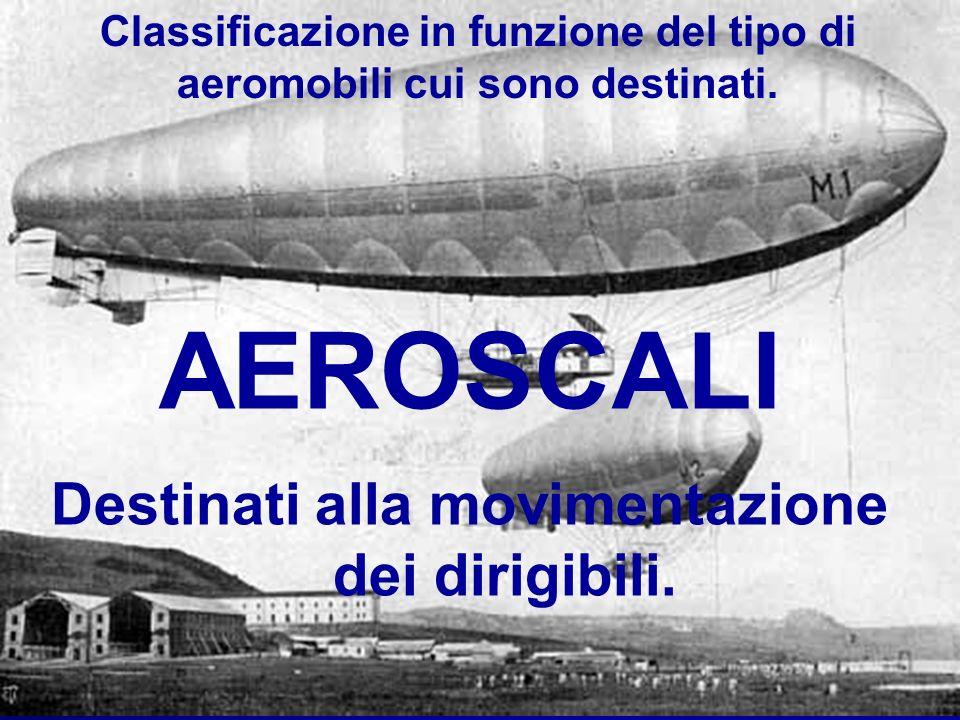AEROSCALI Destinati alla movimentazione dei dirigibili.