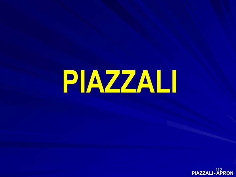 PIAZZALI PIAZZALI - APRON