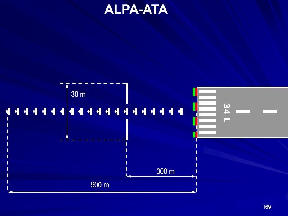 ALPA-ATA 30 m 34 L 300 m 900 m