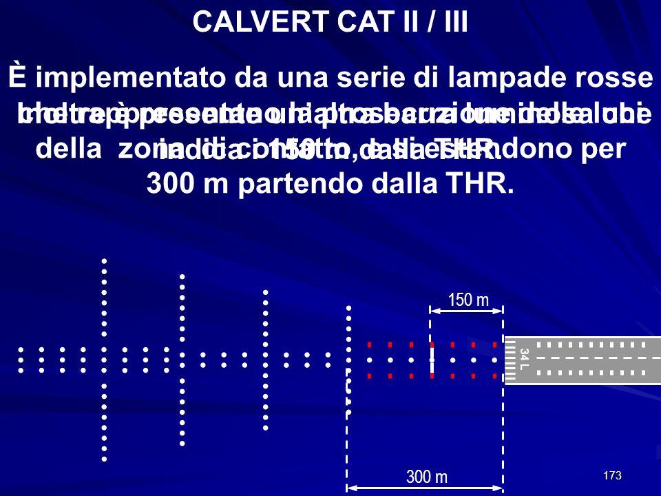 CALVERT CAT II / III