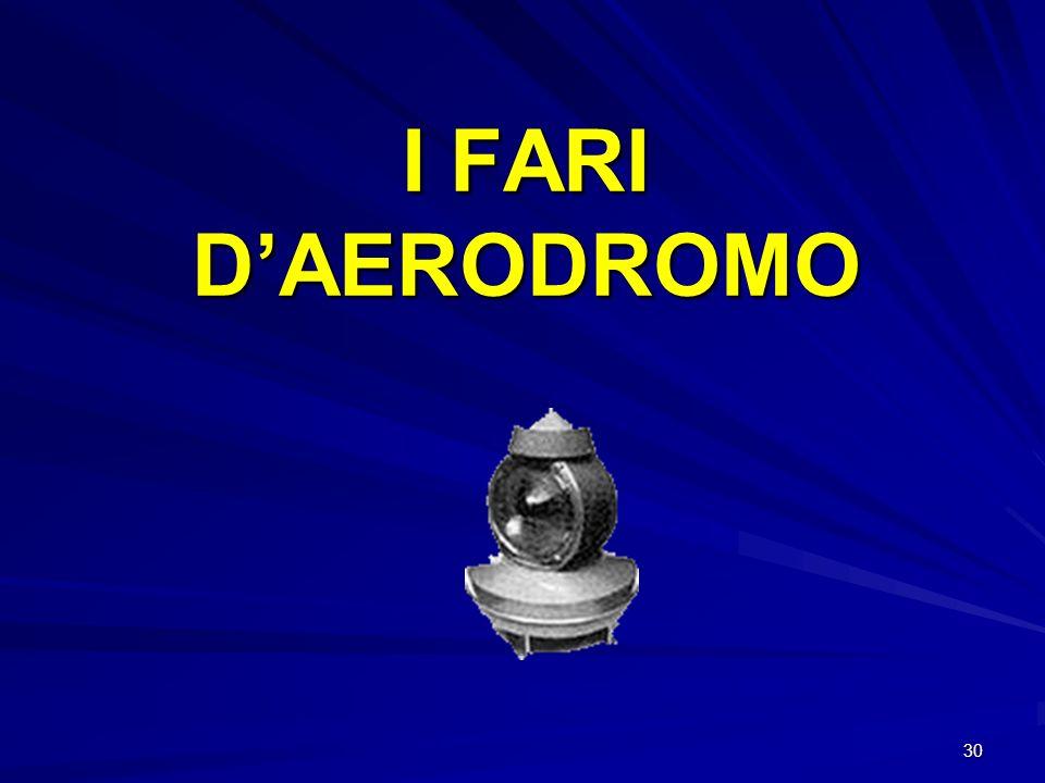 I FARI D'AERODROMO