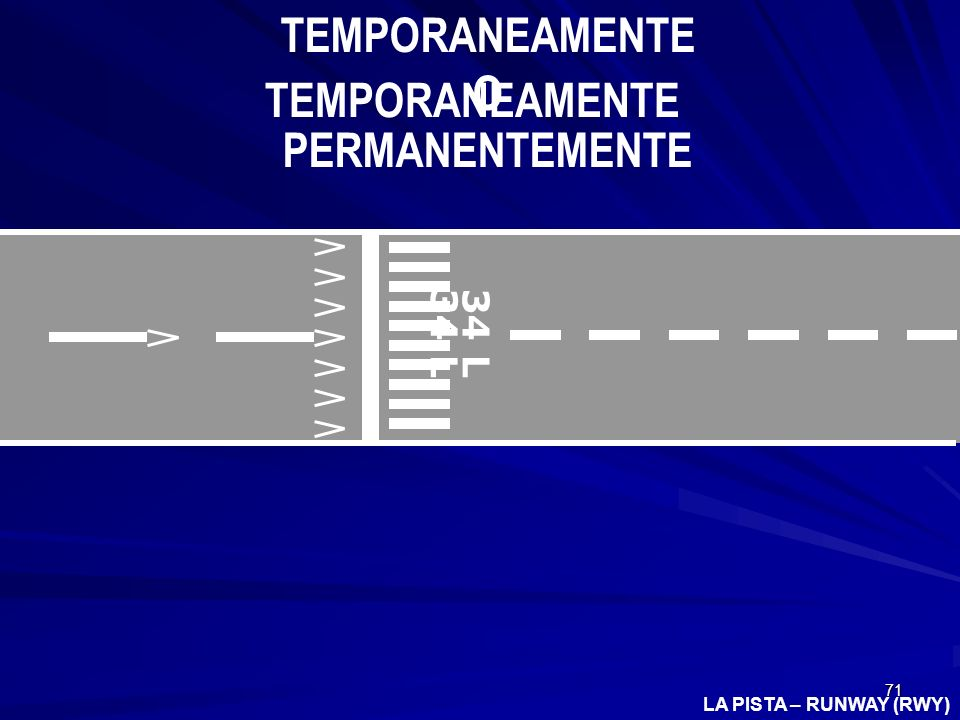 TEMPORANEAMENTE O PERMANENTEMENTE