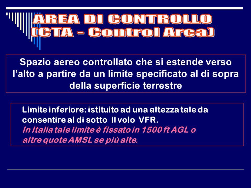 AREA DI CONTROLLO (CTA - Control Area)