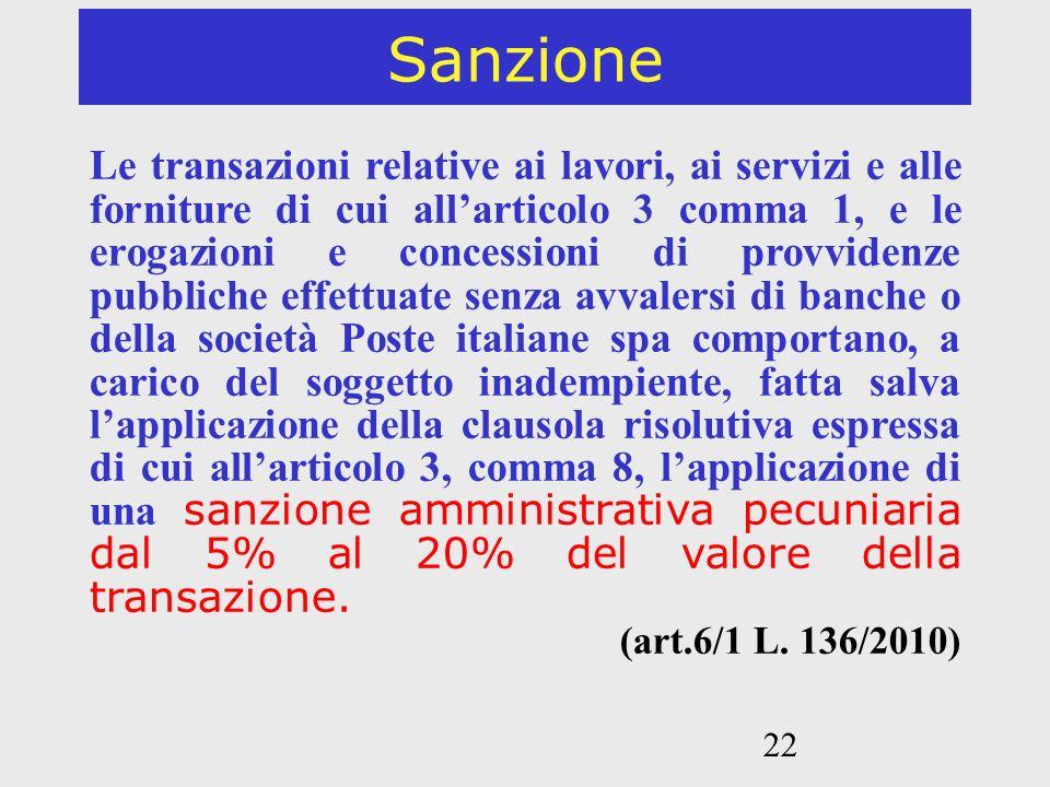 Sanzione