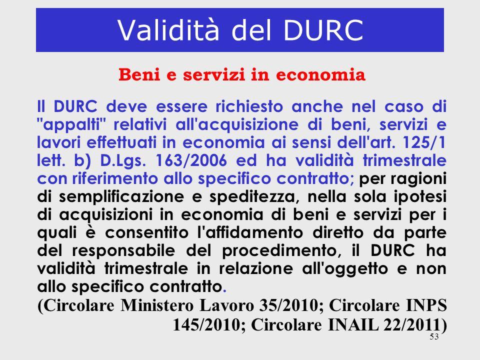 Beni e servizi in economia