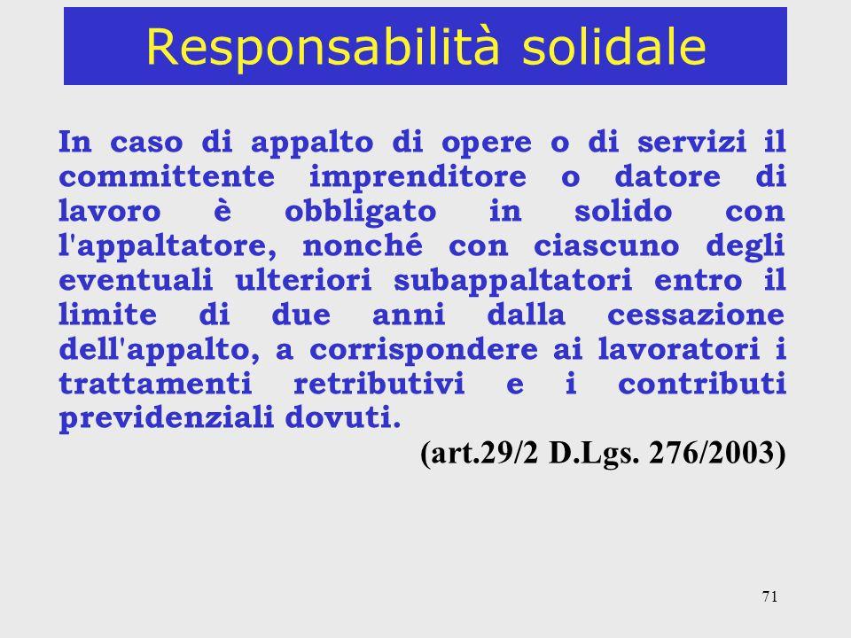 Responsabilità solidale