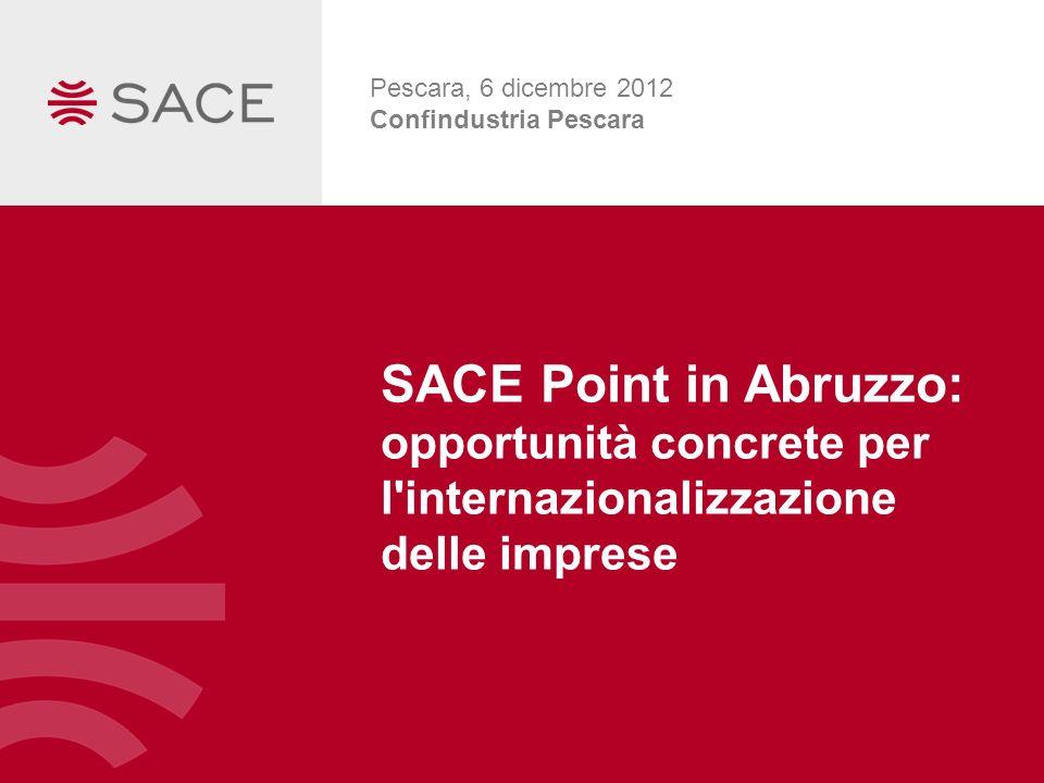 Pescara, 6 dicembre 2012 Confindustria Pescara.
