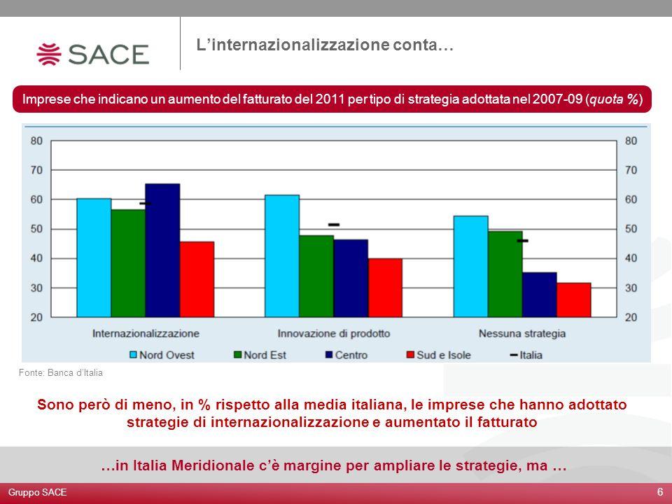 …in Italia Meridionale c'è margine per ampliare le strategie, ma …