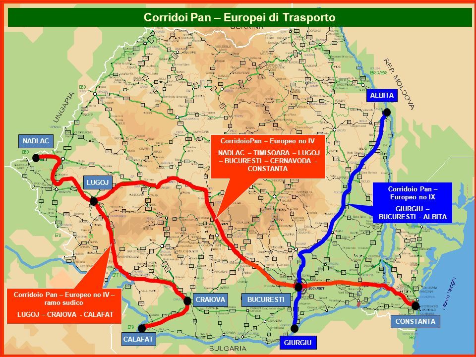 Corridoi Pan – Europei di Trasporto