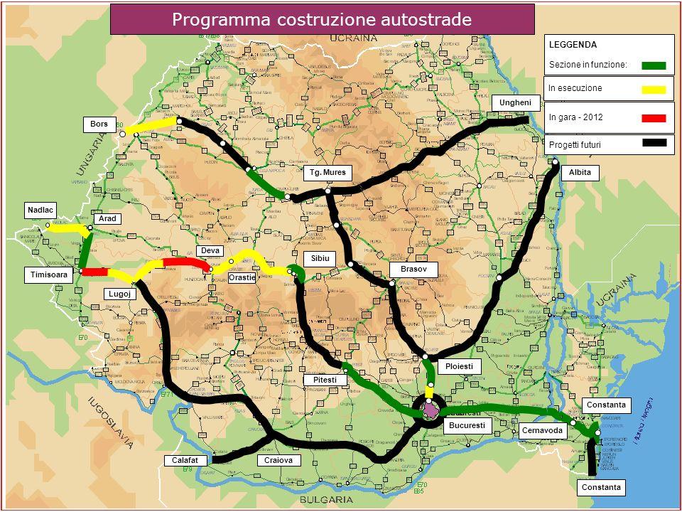Programma costruzione autostrade