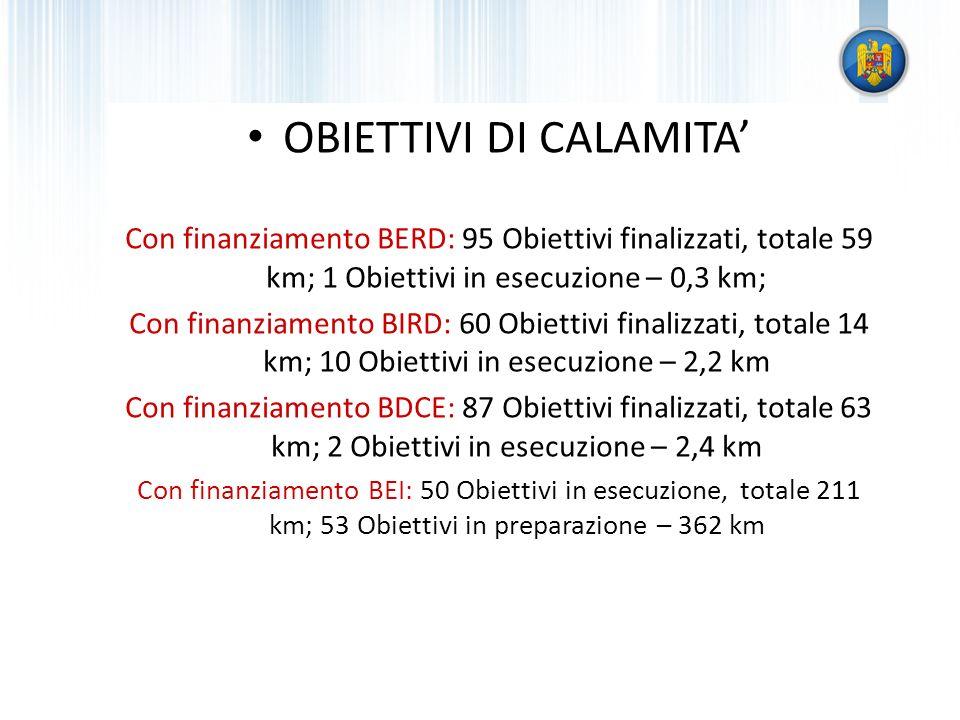 OBIETTIVI DI CALAMITA'