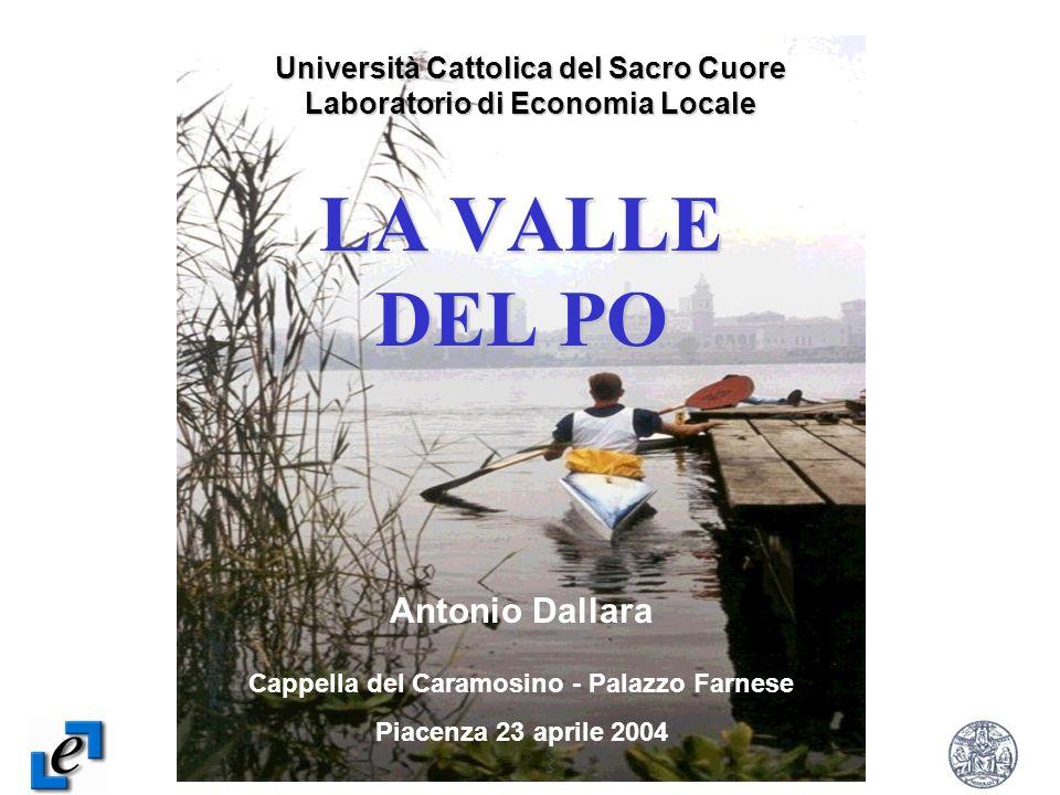 LA VALLE DEL PO Antonio Dallara