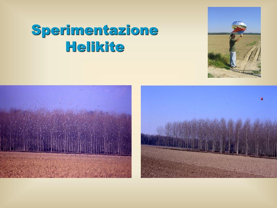 Sperimentazione Helikite
