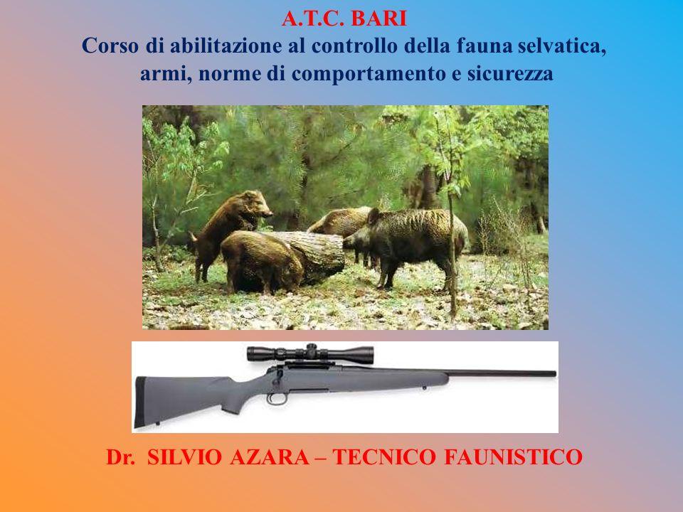 Corso di abilitazione al controllo della fauna selvatica,