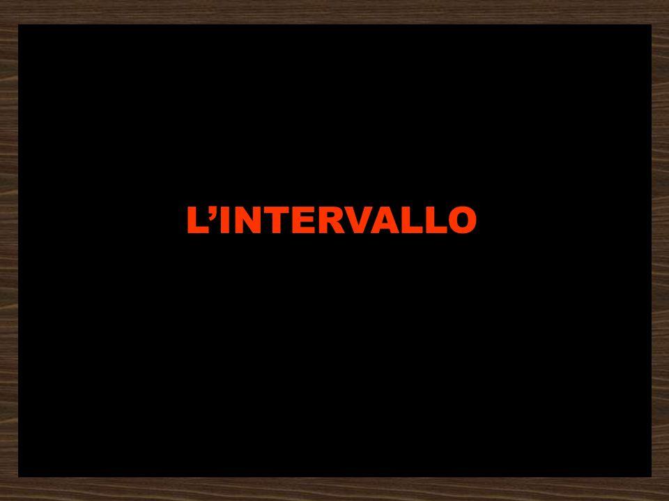 L'INTERVALLO