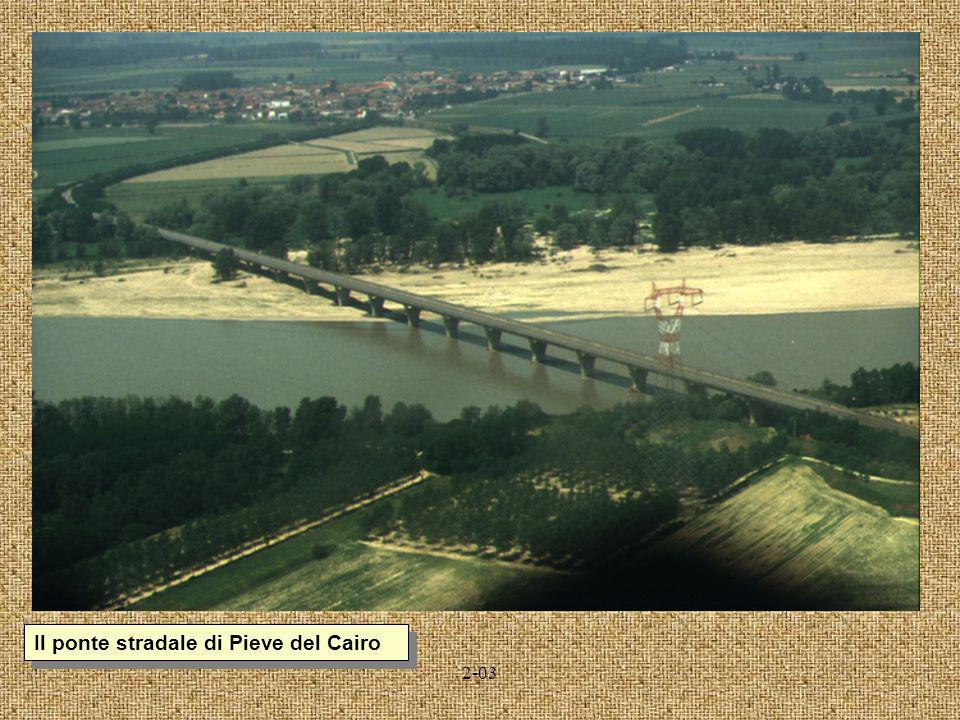 Il ponte stradale di Pieve del Cairo