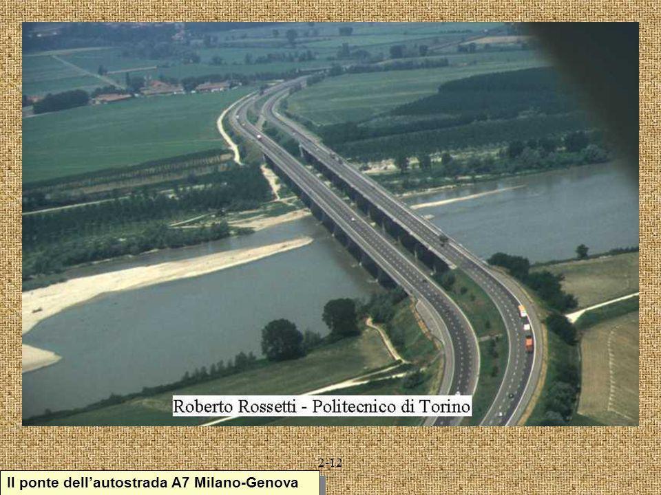 Il ponte dell'autostrada A7 Milano-Genova