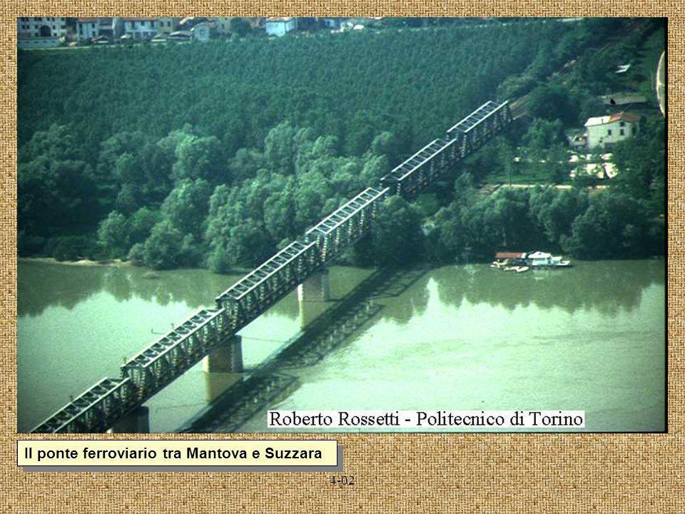 Il ponte ferroviario tra Mantova e Suzzara