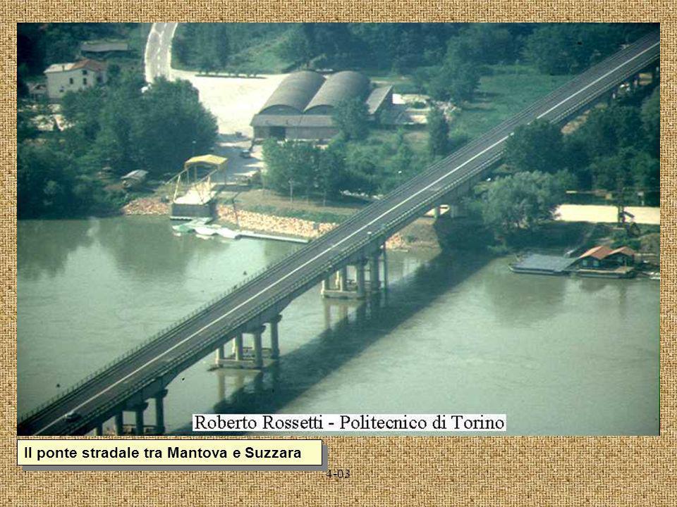 Il ponte stradale tra Mantova e Suzzara