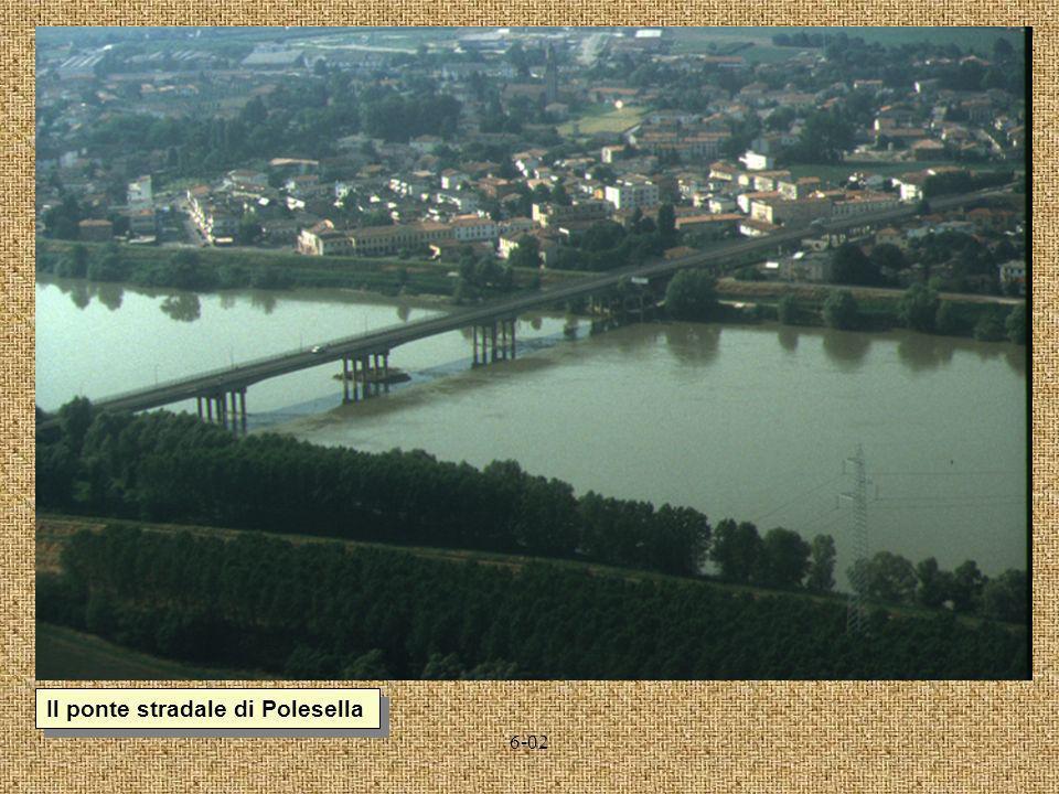 Il ponte stradale di Polesella