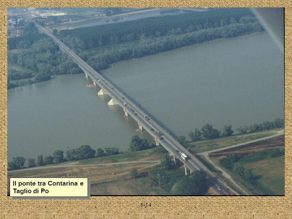 Il ponte tra Contarina e Taglio di Po