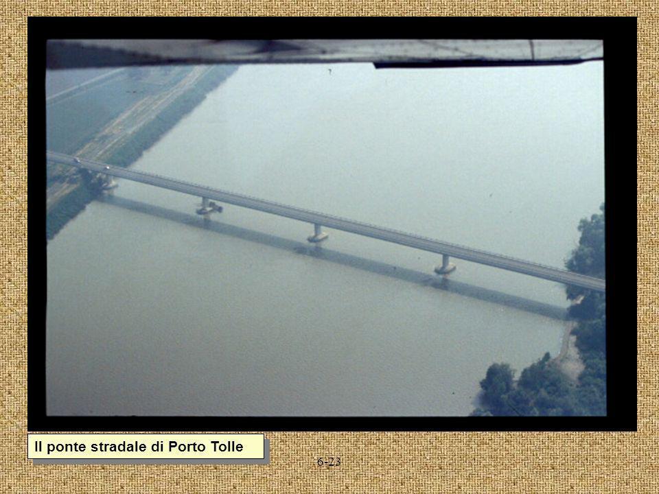Il ponte stradale di Porto Tolle