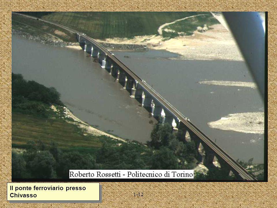 Il ponte ferroviario presso Chivasso