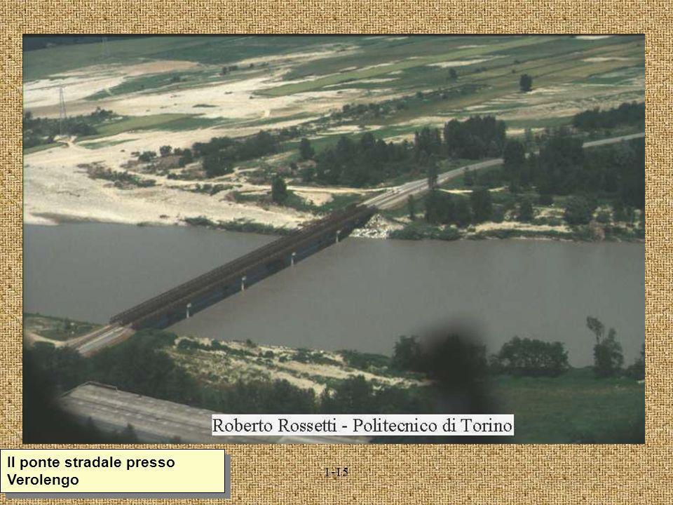 Il ponte stradale presso Verolengo