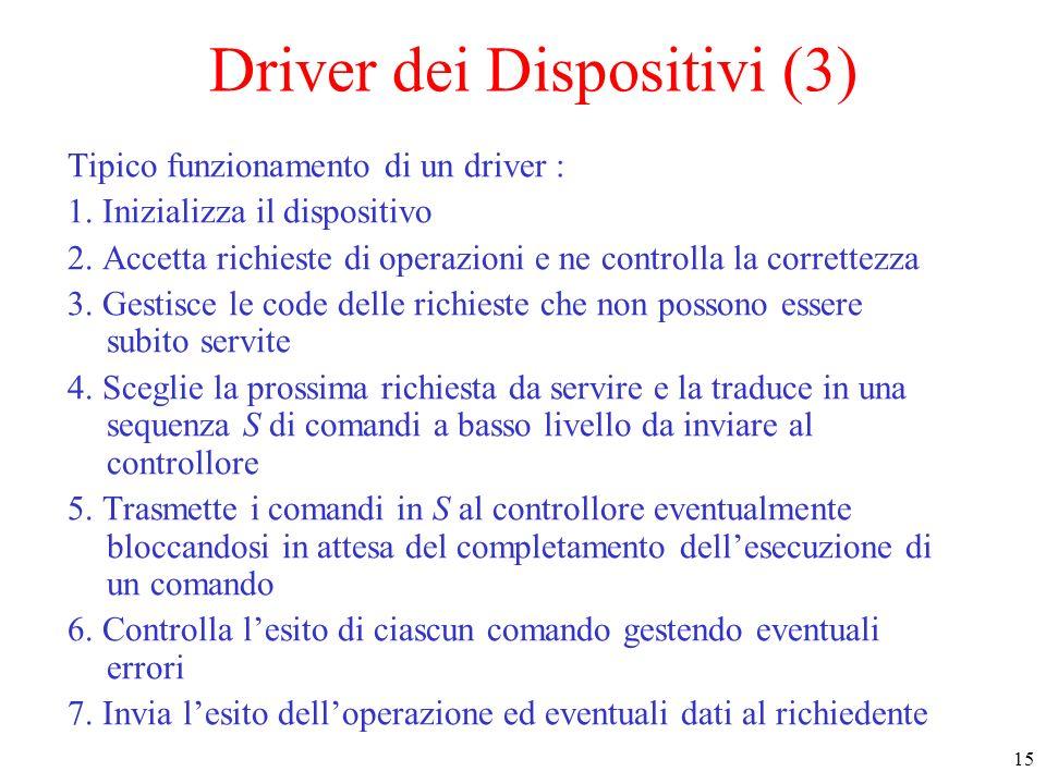 Driver dei Dispositivi (3)