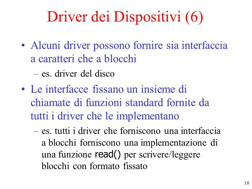 Driver dei Dispositivi (6)