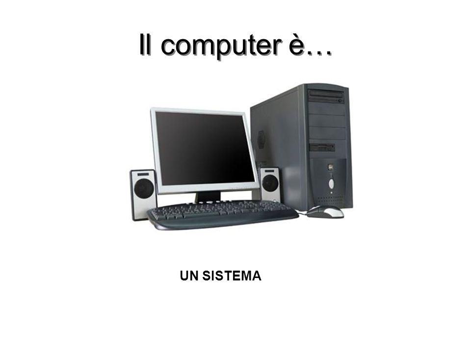 Il computer è… UN SISTEMA