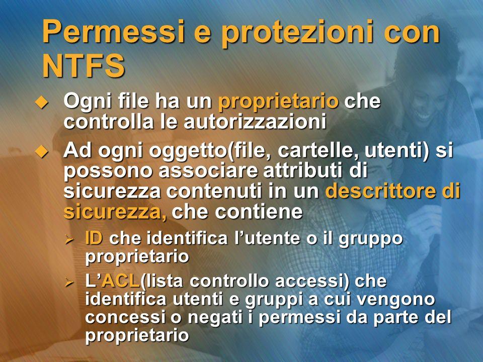 Permessi e protezioni con NTFS