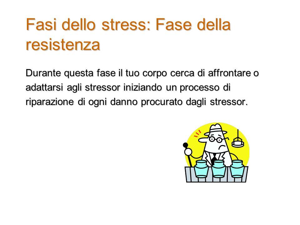 Fasi dello stress: Fase della resistenza