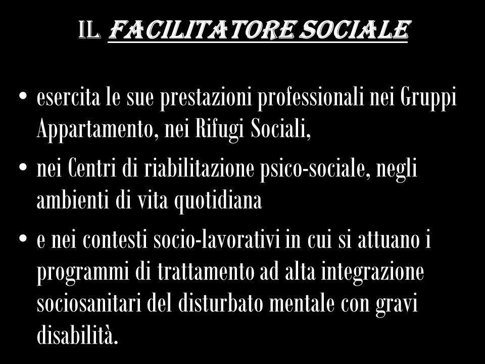 Il facilitatore sociale