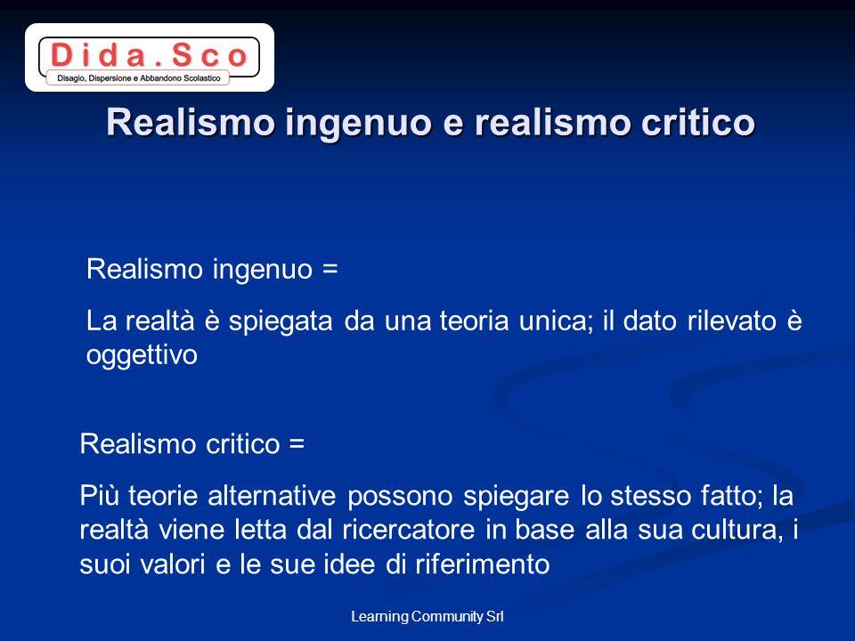 Realismo ingenuo e realismo critico