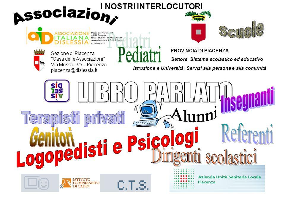 Logopedisti e Psicologi Genitori Dirigenti scolastici