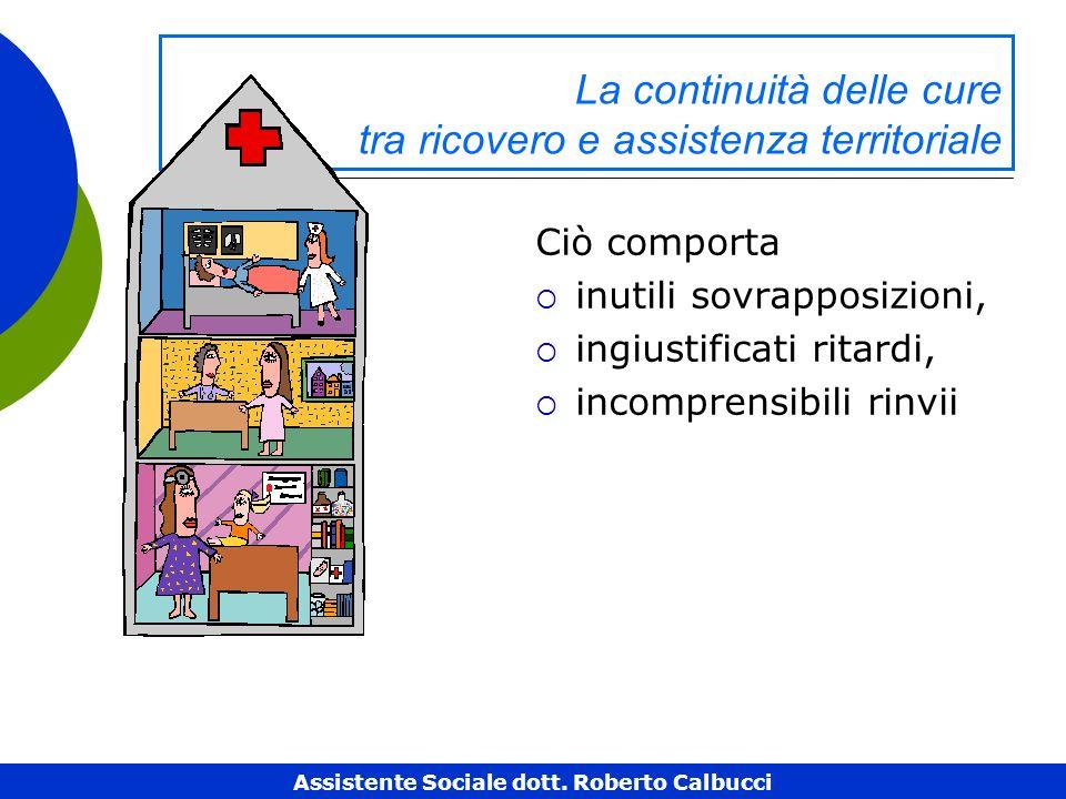 La continuità delle cure tra ricovero e assistenza territoriale
